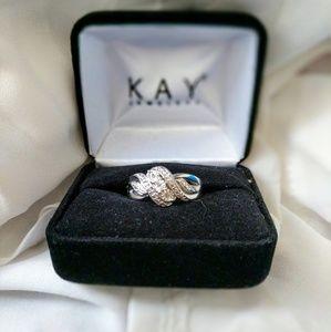 Kay Diamond Silver Ring